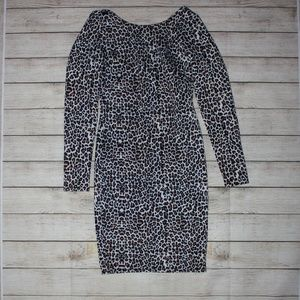 Kardashian Kollection | Cheetah Print Dress, XS